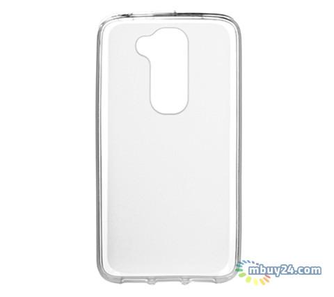 Чехол Drobak Elastic PU для LG G2 mini D618 White Clear (211574)