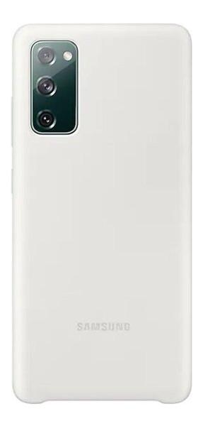 Чехол Samsung Silicone Cover смартфона Galaxy S20FE (G780) White (EF-PG780TWEGRU)