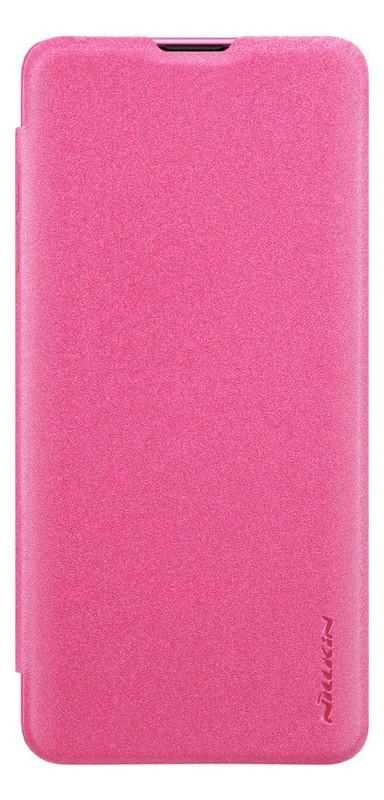 Чехол Nillkin Sparkle Leather Case Samsung Galaxy S10 (SM-G973) Red
