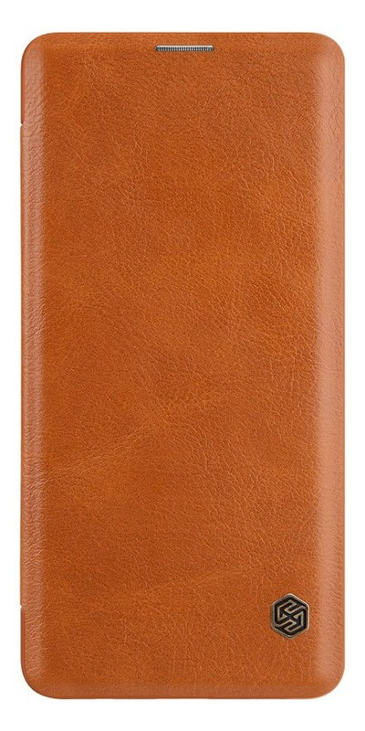 Чехол-книжка Nillkin Qin Leather Case Samsung Galaxy S10 Brown