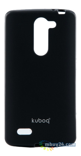 Накладка+пленка Kuboq LG L80 Dual D380 Black (KQLGD370SNBKTPU)