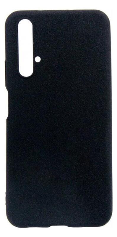 Чехол-накладка Dengos Carbon Huawei Nova 5T Black (DG-TPU-CRBN-28)