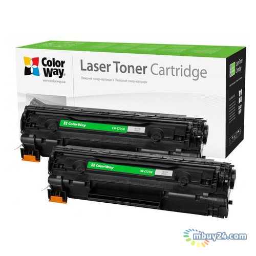 Картридж ColorWay для Canon 725 LBP6000/MF3010 Universal DUAL PACK (CW-C725FM)