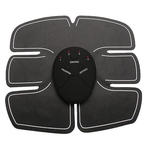 Миостимулятор Beauty Body 6 Pack EMS Миостимулятор для мышц живота EMS Trainer, Черный
