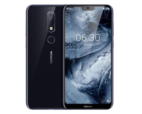 Смартфон Nokia X6 2018 4/64GB Blue *EU