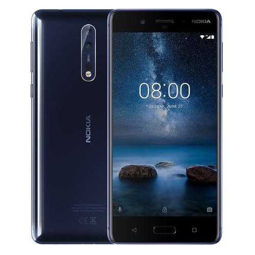 Смартфон Nokia 8 4/64Gb Polished Blue