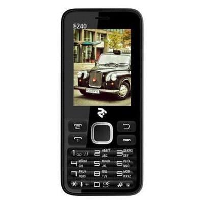 Мобильный телефон 2E E240 Dual Sim Black (708744071132) *CN