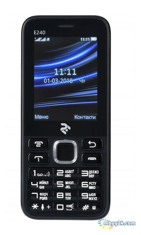 Мобильный телефон Twoe E240 Black