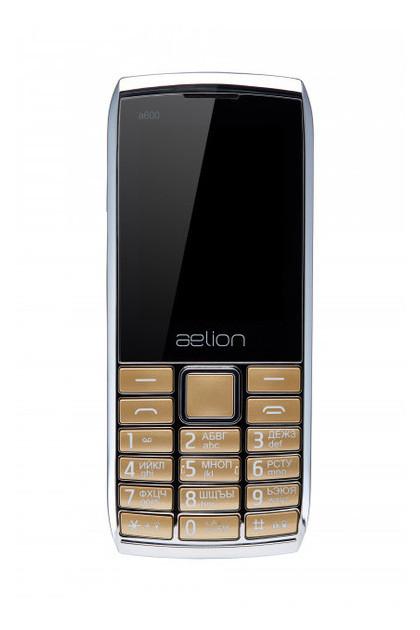 Мобильный телефон Aelion A600 Gold