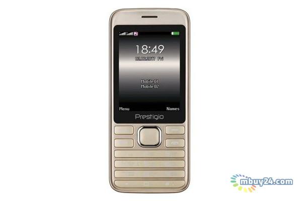 Мобильный телефон Prestigio Grace A1 1281 Dual Sim Gold