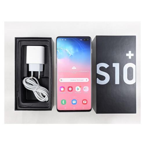 Смартфон Samsung Galaxy S10 Plus (SM-G975F) 8/128GB Prism White Refurbished Grade B1