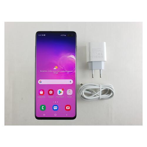 Смартфон Samsung Galaxy S10 Plus (SM-G975F) Dual Sim 8/128GB Prism Black Refurbished Grade B2