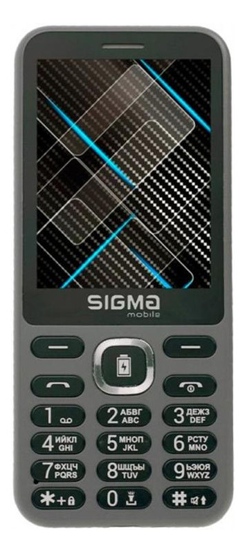Мобильный телефон Sigma mobile X-style 31 Power Dual Sim Grey