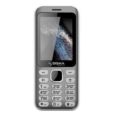 Мобильный телефон Sigma X-style 33 Steel Dual Sim Grey (4827798854914) *CN