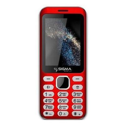 Мобильный телефон Sigma X-style 33 Steel Dual Sim Red (4827798854938) *CN