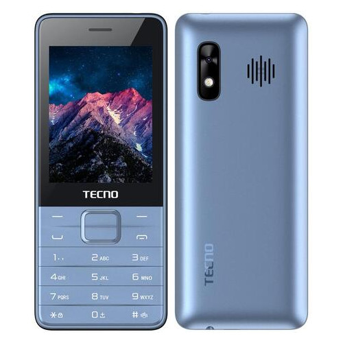 Мобильный телефон Tecno T454 Dual Sim Blue (4895180745997)