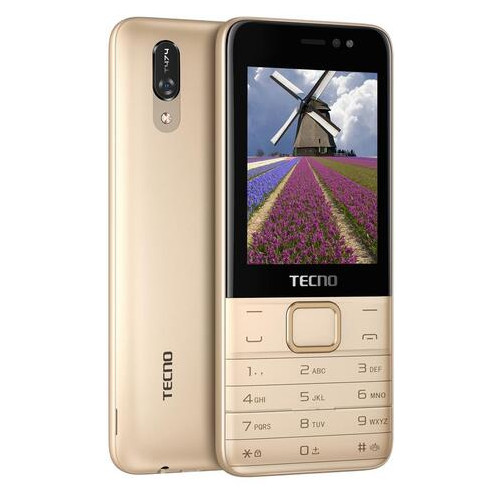 Мобильный телефон Tecno T474 Dual Sim Champagne Gold (4895180747977)