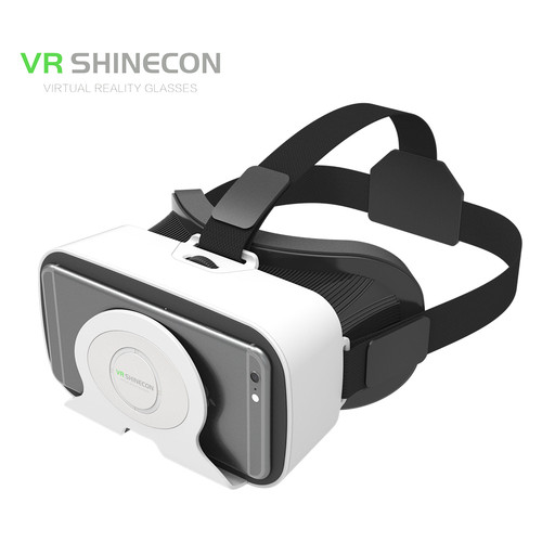 3D очки виртуальной реальности Shinecon VR SC-G03R White (12333)