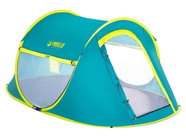 Палатка туристическая двухместная Bestway 68086 Cool Mount однослойная полуавтоматическая (ZE35011642)