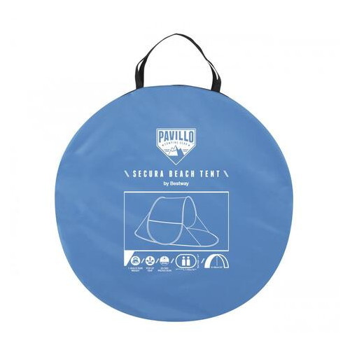 Пляжная палатка тент Secura Beach Tent Bestway 68045 230920 (ZE35008967)