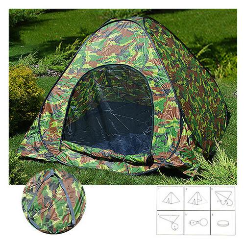 Палатка-автомат Stenson Camo Green MH-3520-2.3 230920 (ZE35iz12202)