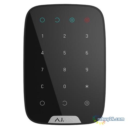 Пульт для управления приборами Ajax Keypad Wireless Black (000005653)
