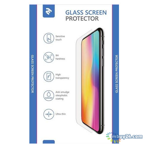 Защитное стекло 2E для Huawei Y7 Prime 2018, 0.33mm, 2.5D (2E-TGHW-Y7P18-25D)