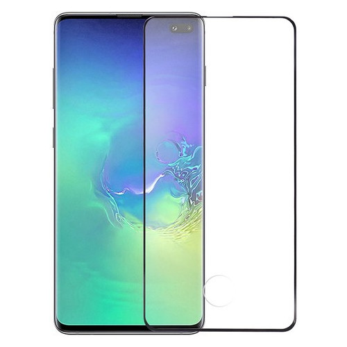 Защитное стекло Toto 5D Cold Carving Tempered Glass Samsung Galaxy S10+ Black