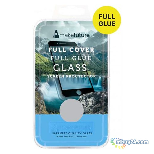 Защитное стекло MakeFuture Full Cover Glue Samsung A8 2018 Black (MGFCFG-SA818B)