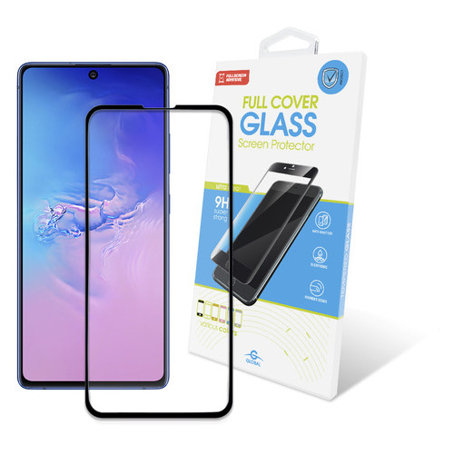Защитное стекло Global Samsung Galaxy S10 Lite SM-G770 Full Glue Black (1283126497322)