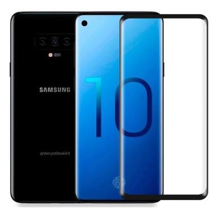 Защитное стекло Nillkin Anti-Explosion Glass Screen (CP+ max 3D) Samsung Galaxy S10 Черный