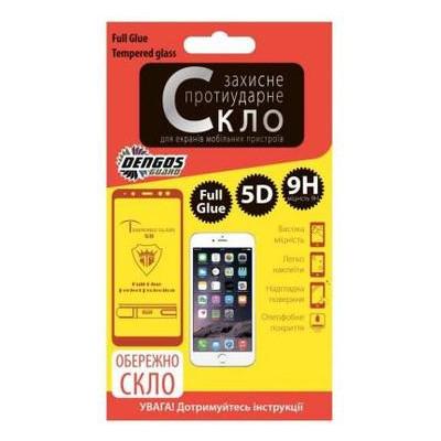 Стекло защитное Dengos для Xiaomi Redmi Go, Full Glue, black frame (TGFG-50)
