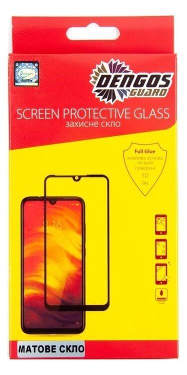 Защитное стекло Dengos Samsung Galaxy A31 SM-A315 Black Full Glue Matte (TGFG-MATT-19)