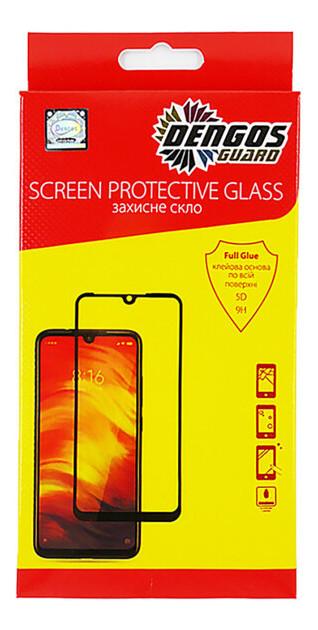 Защитное стекло Dengos Samsung Galaxy S10 Lite SM-G770 Black Full Glue (TGFG-128)