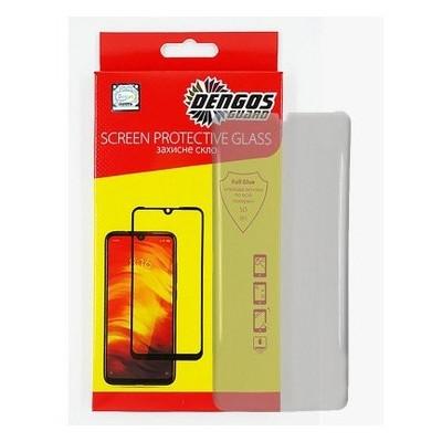Защитное стекло Dengos Privacy для Samsung Galaxy A31 SM-A315 Black Full Glue (TGFGP-20)