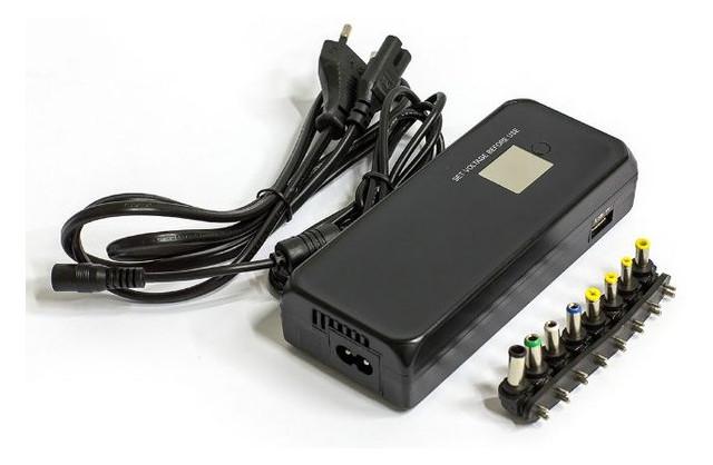 Адаптер питания для ноутбука универсальный HQ-Tech HQ-A120MU LCD
