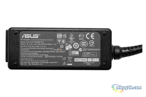 Оригинальный блок питания для ноутбука Asus 19V 2.1A 2.5 x 0.7mm (AD6630)