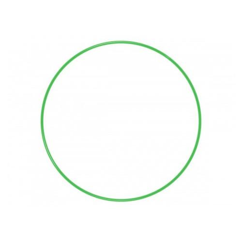 Обруч гимнастический S4S 96 см металл зеленый L11