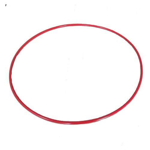 Обруч гимнастический S4S 96 см металл красный L11