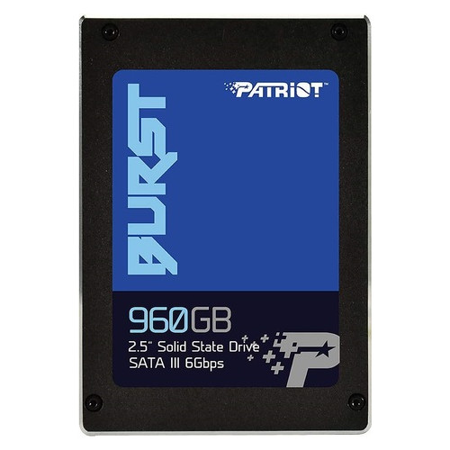 Накопитель SSD 960GB Patriot Burst 2.5 SATAIII 3D TLC (PBU960GS25SSDR)