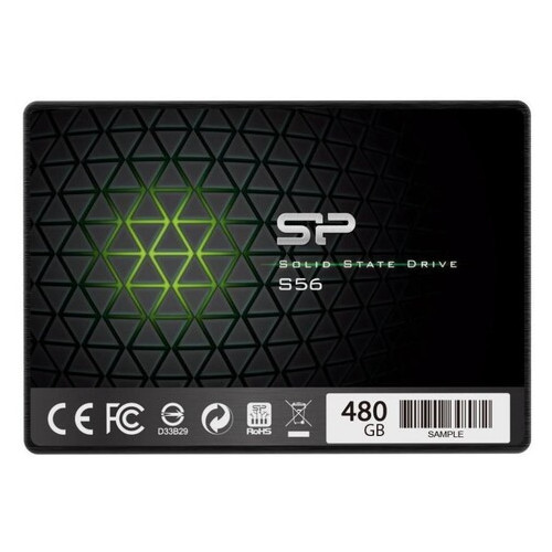 Накопитель SSD Silicon Power 2.5 SATA 480Gb S56 (SP480GBSS3S56A25)