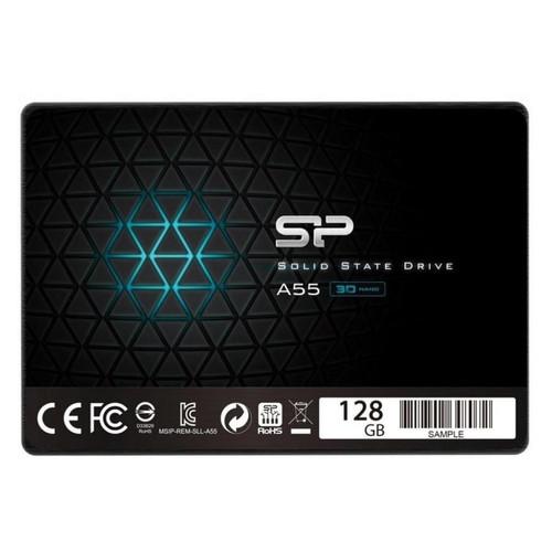 Накопитель SSD 2.5 Silicon Power A55 128GB SATA TLC (SP128GBSS3A55S25)