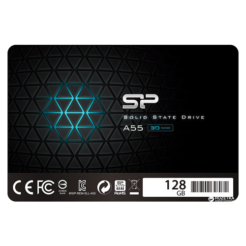 Накопитель SSD Silicon Power Ace A55 128GB SP128GBSS3A55S25