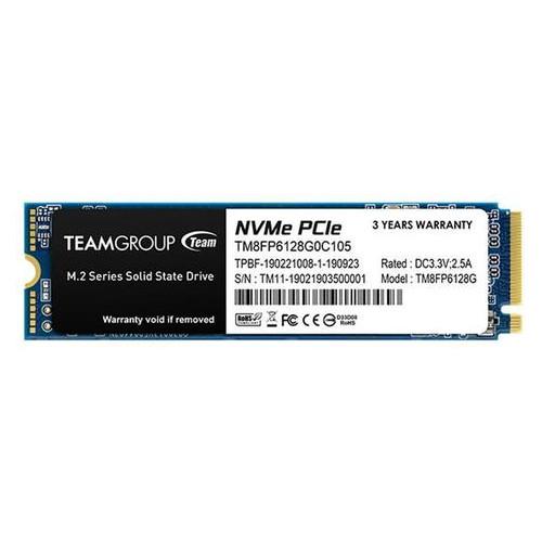Накопитель SSD 128GB Team MP33 M.2 2280 PCIe 3.0 x4 3D TLC (TM8FP6128G0C101)