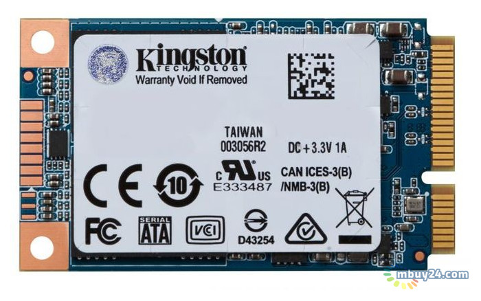 SSD накопитель Kingston UV500 mSATA 120 GB (SUV500MS/120G)