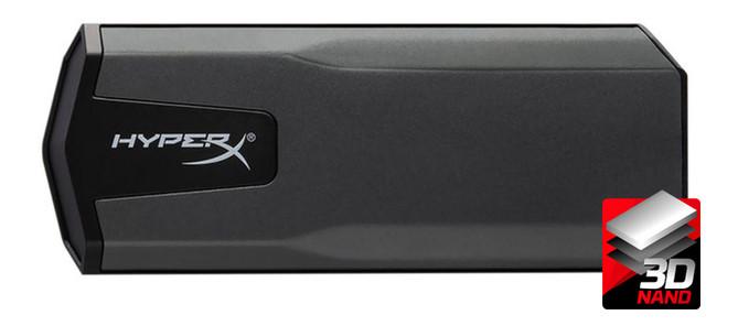 Внешний накопитель SSD 960GB Kingston HyperX SAVAGE EXO (SHSX100/960G)