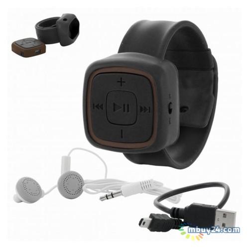 Плеер MP3 с браслетом Черный