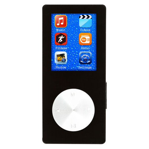 Плеер Atrix XSound 13 Fittracker Bluetooth REC FM 8Gb MP4 Black