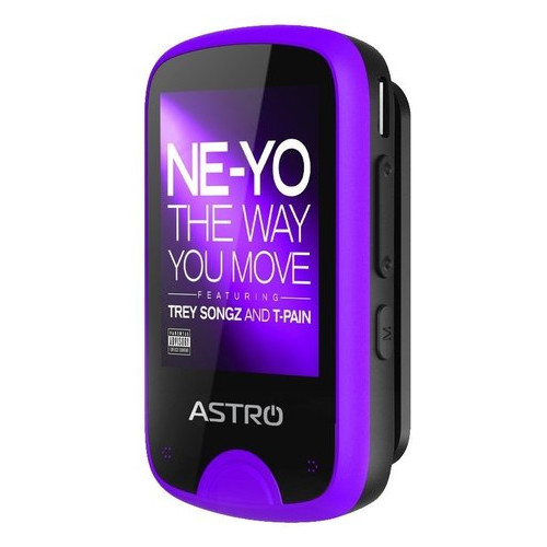 MP3 плеер Astro M5 Black/Purple