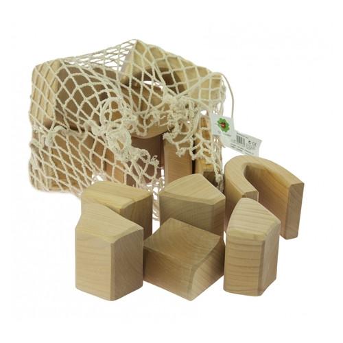 Конструктор деревянный Nic Большой натуральный 17 элементов NIC523283